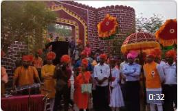 Powada performed by Bal Bhavan Children's during Chhatrapati Shivaji Maharaj, Birth Anniversary celebration